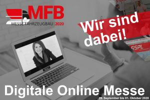 "Virtual fair ""MESSE FAHRZEUGBAU 2020"" from 29.09. to 01.10.2020!"